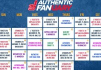 NBC Sports Authentic Fanuary Sweepstakes
