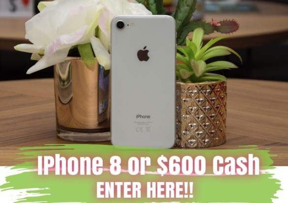 Our Fab Fash Life Iphone 8 Or $600 Cash Giveaway