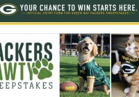 Packers Everywhere Green Bay Packers Packers Pawty Sweepstakes