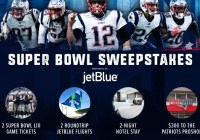 Patriot Place Super Bowl LIII Sweepstakes