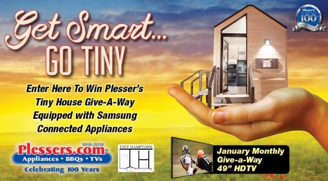 Plessers Get Smart Go Tiny Sweepstakes