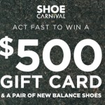 Shoe Carnival Giveaway