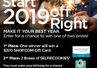 Shop.Com 2019 New Year Sweepstakes