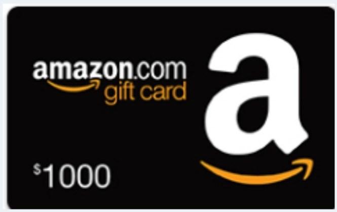 SlimKicker $1000 Amazon Giveaway
