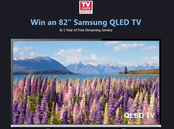 TV Guide Magazine Streamit Giveaway