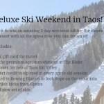 Wine Awesomeness Deluxe Taos Ski Weekend Getaway Sweepstakes