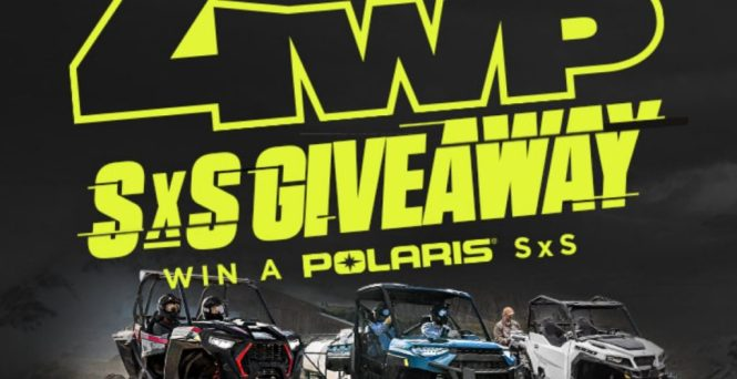 4 Wheel Parts SxS Giveaway