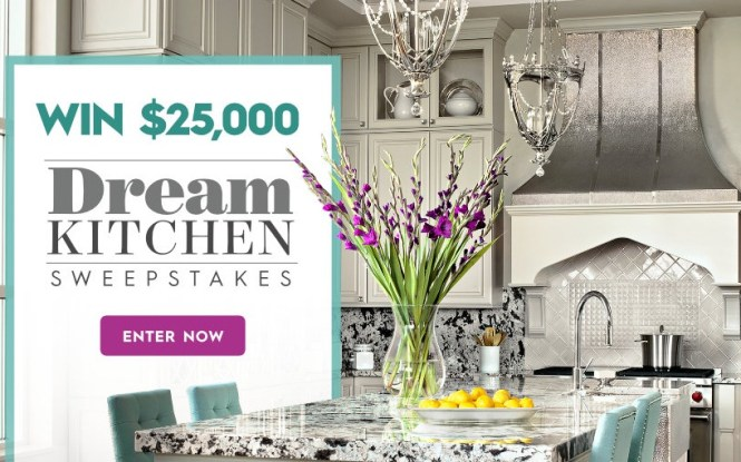 Better Homes And Gardens Dream Kitchen Sweepstakes