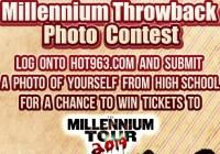 Hot 963 Millennium Throwback Photo Contest