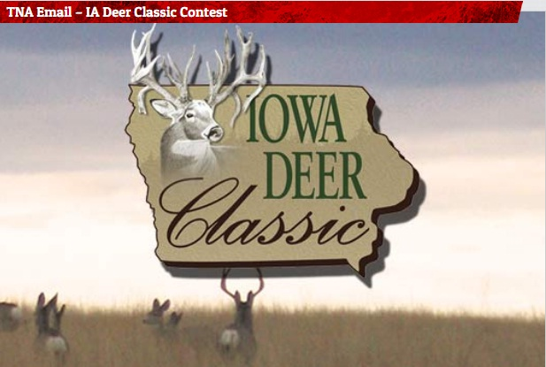 Lazer 103.3 TNA Email IA Deer Classic Contest