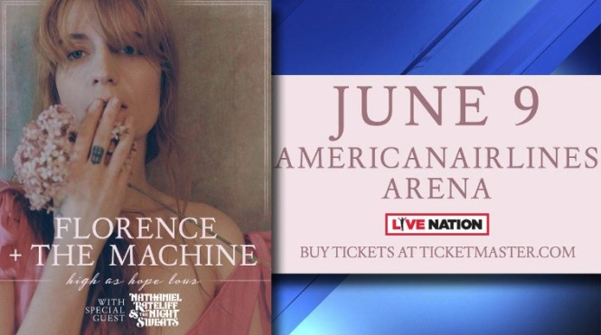 Local 10 Florence + The Machine Ticket Giveaway