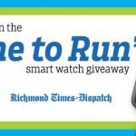 Richmond Times Dispatch Time To Run Smart Watch Giveaway