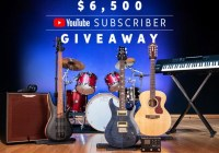 Sweetwater YouTube Subscriber Giveaway