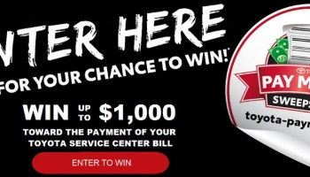 Toyota Bill Pay >> Circle K Pay Your Bills Sweepstakes Win Up To 25 000