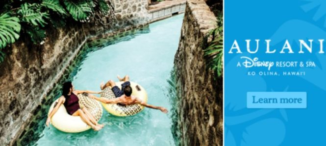 WARM 106.9 Vacation For 4 To Aulani Resort Sweepstakes