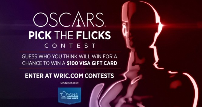 WRIC Oscars Pick The Flicks Contest