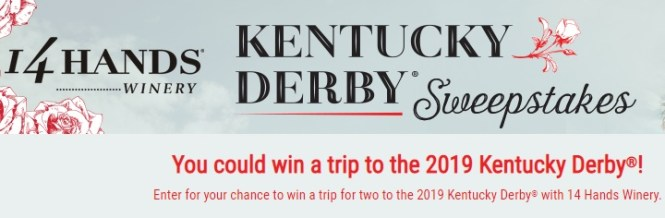 14 Hands Kentucky Derby Sweepstakes