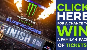 Montana Fair Supercross Sweepstakes - Win Tickets To Supercross
