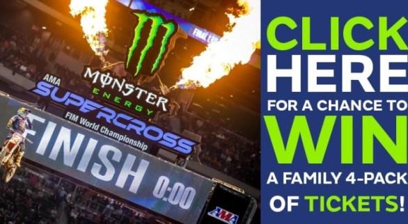 AMA Supercross FIM World Championship Sweepstakes