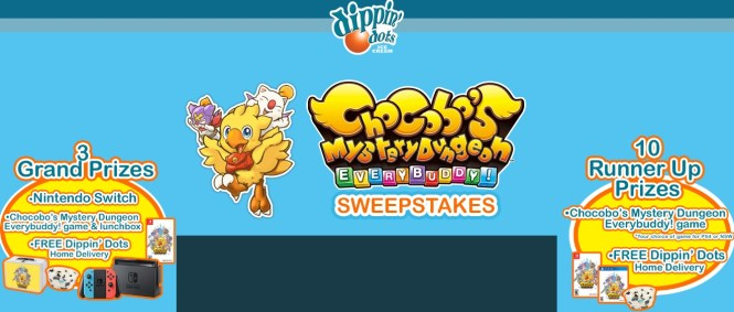 Chocobo Mystery Dungeon Everybuddy Sweepstakes - Win A
