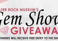 Crater Rock Museum Gem Show Giveaway