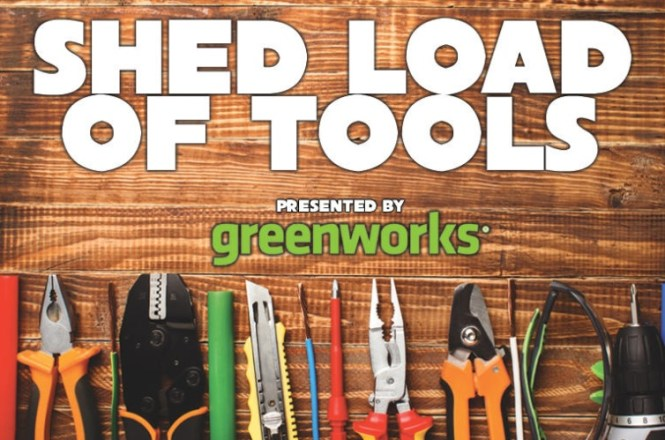 Greenworks Shedload Of Tools Contest