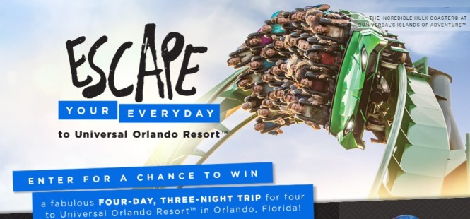 HGTV Escape Your Everyday Sweepstakes