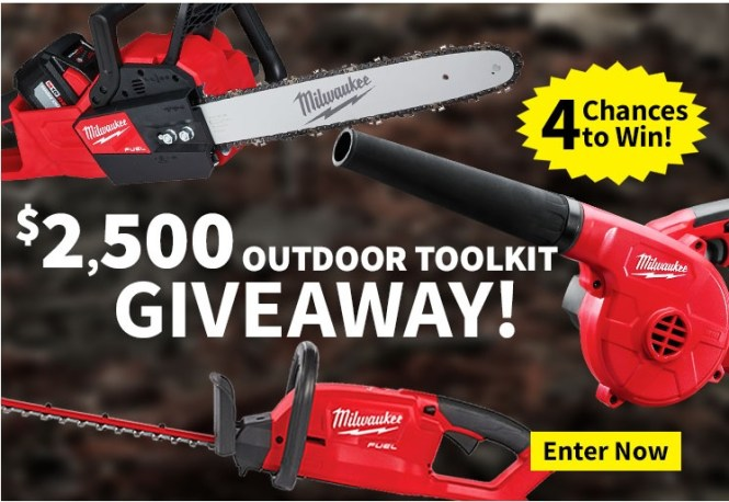 Milwaukee Outdoor Toolkit Giveaway