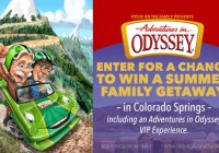 Adventures In Odyssey Summer Family Getaway Contest