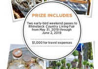 Country Living Rhinebeck Fair Sweepstakes