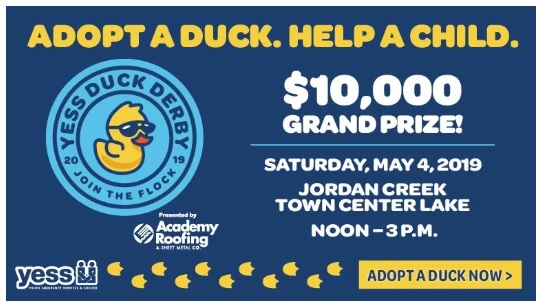 Duck Derby 2019 Sweepstakes