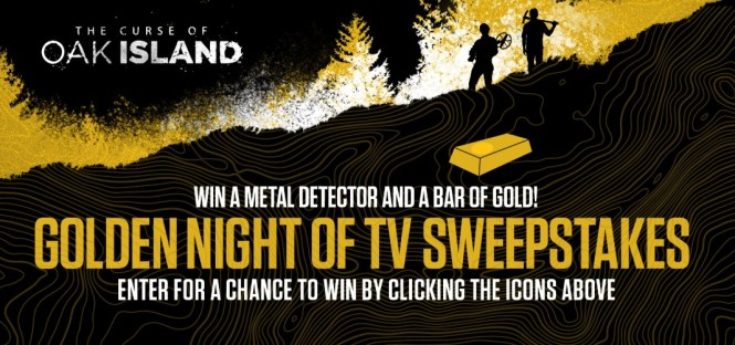 Golden Night Of TV Sweepstakes - Win A Fisher Gold Bug Pro