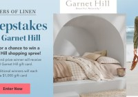 Layers Of Linen Sweepstakes
