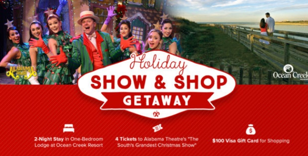 Myrtle Beach Holiday Show And Shop Getaway Giveaway