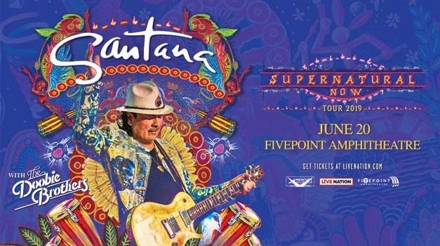 Santana & The Doobie Brothers Contest