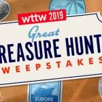 WTTW 2019 Great Treasure Hunt Sweepstakes