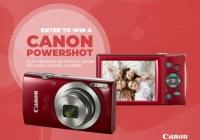 Canon Powershot Camera Giveaway