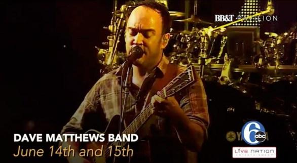 Dave Mathews Band Sweepstakes