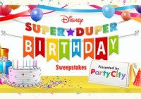 Disney Super Duper Birthday Sweepstakes