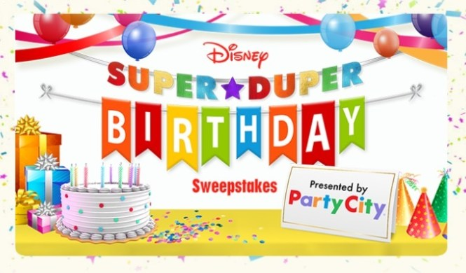 Disney Super Duper Birthday Sweepstakes