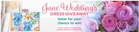 Hallmark Channel June Weddings Wedding Dress Giveaway