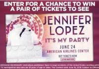Jennifer Lopez Contest