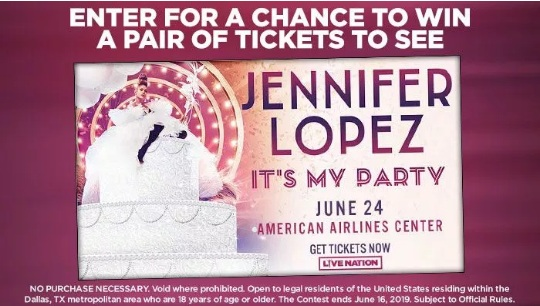 Jennifer Lopez Contest