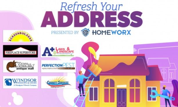 Lazer 103.3 Refresh Your Address Contest
