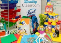 Lysol School Supply Wish List Giveaway
