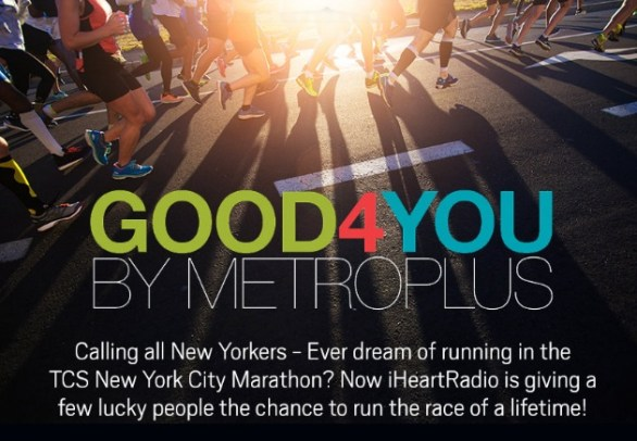 MetroPlus Marathon Sweepstakes