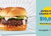 Mushroom Council Blended Burger Contest
