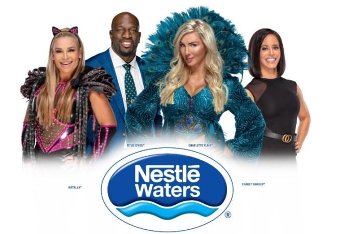 Nestle Waters Challenge SummerSlam Sweepstakes