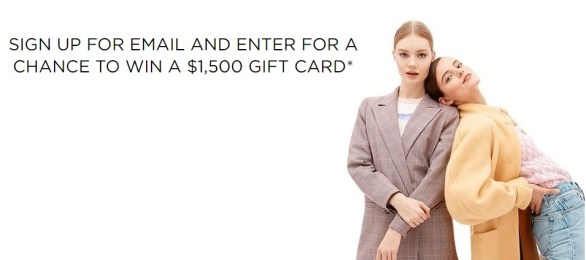Saks Fifth Avenue May Email Sweepstakes