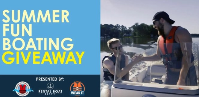 Summer Fun Boating Giveaway